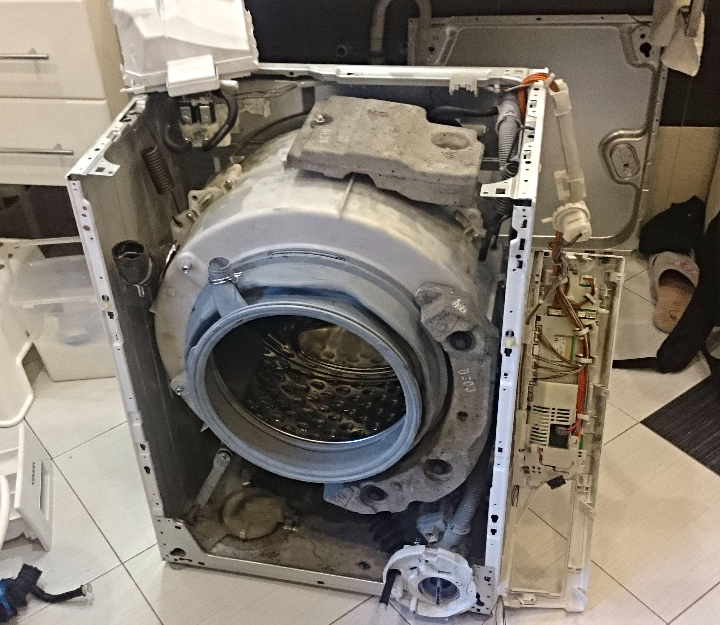 Замена подшипников в стиральной машине Candy Видео на Запорожском портале 28