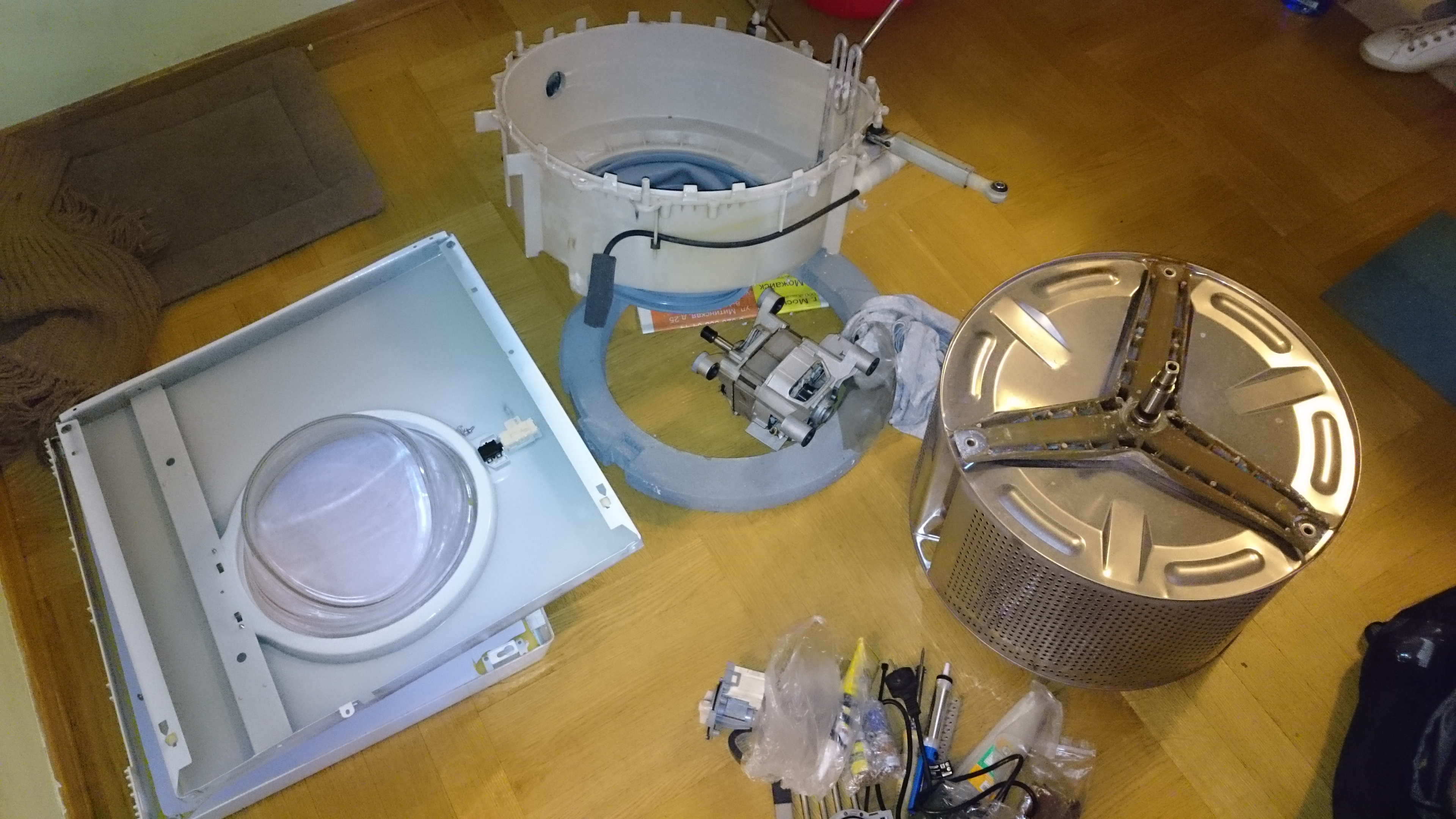 Замена подшипников в стиральной машине Candy Видео на Запорожском портале 38