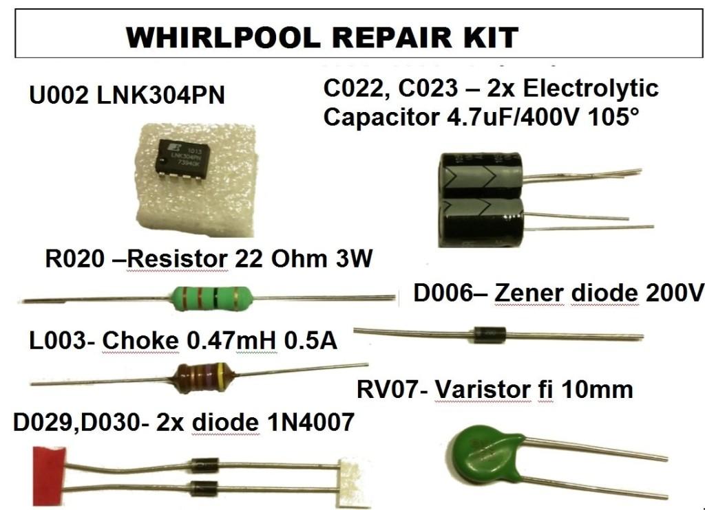 Whirlpool AWE 6514 - не включается.