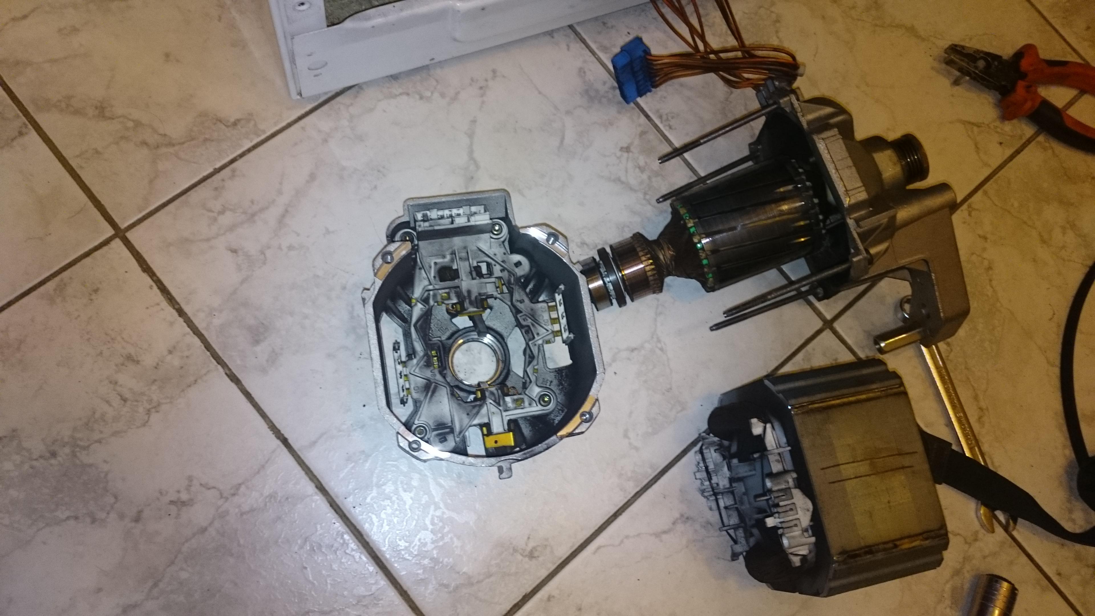Двигатель Bosch WFT 2830